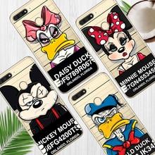 Mickey Minnie For huawei Y5 Y6 II Prime Nova 2 3 4 3i Plus 2018 2017 phone case Cover Coque Etui funda etui capinha capa cute