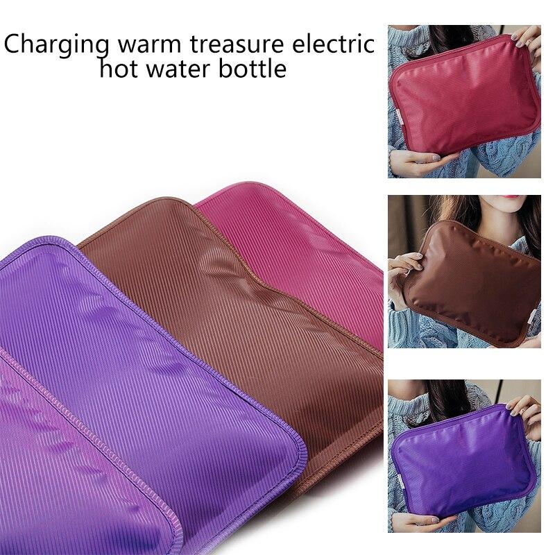 Sıcak su torbası elektrikli kış el ısıtıcı sıcak su şişesi el Po takılı şarj elektrikli sıcak su torbası ab tak
