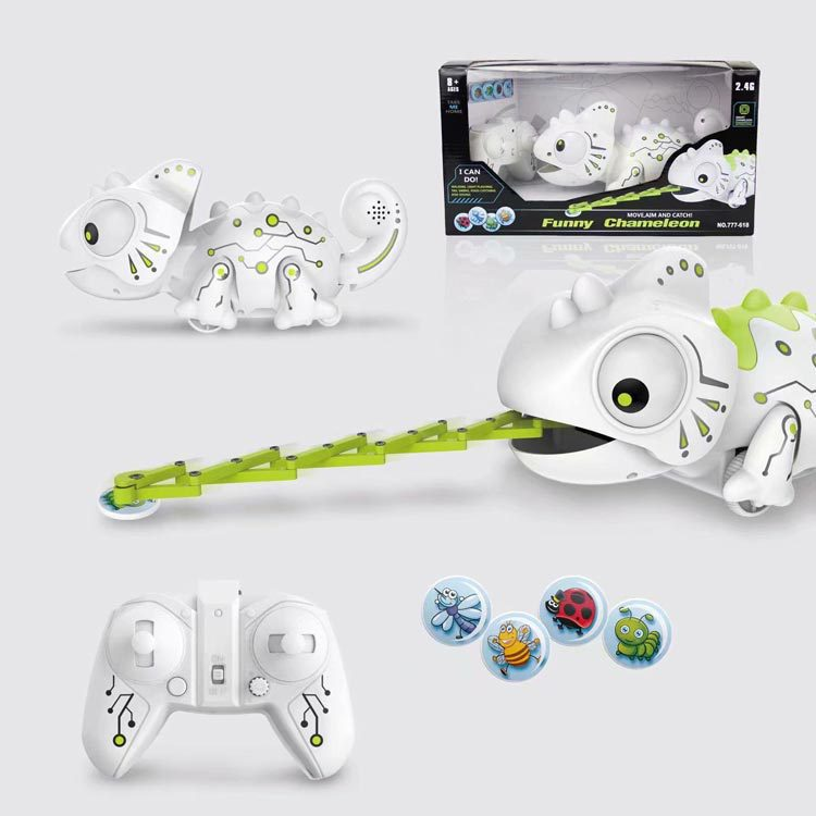 Douyin Smart Chameleon Children Electric Remote Control Robot Pet Toy Children Gift Strange New Toy