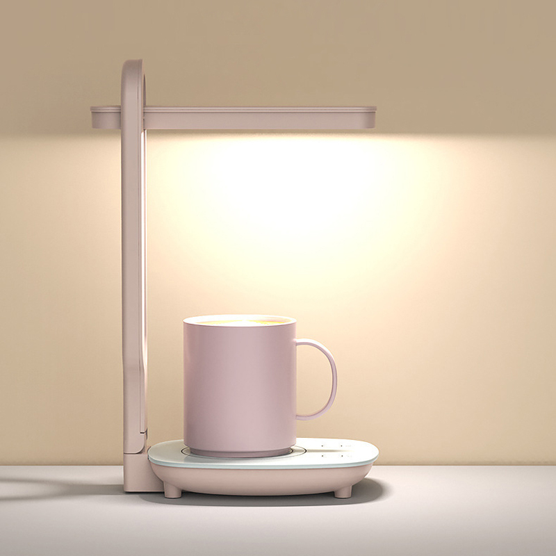 220V нагреватель чашки многофункциональный сохранение тепла для подогрева чашек Coaster Настольный обогреватель со светодиодной лампы для Кофе...
