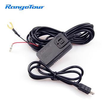 Range Tour 12/36V to 5V 1.5-2.0A Inverter Converter Mini U Hardwire Kit Wire for Car DVR Dash Cam Car Camera Car Charger Cable