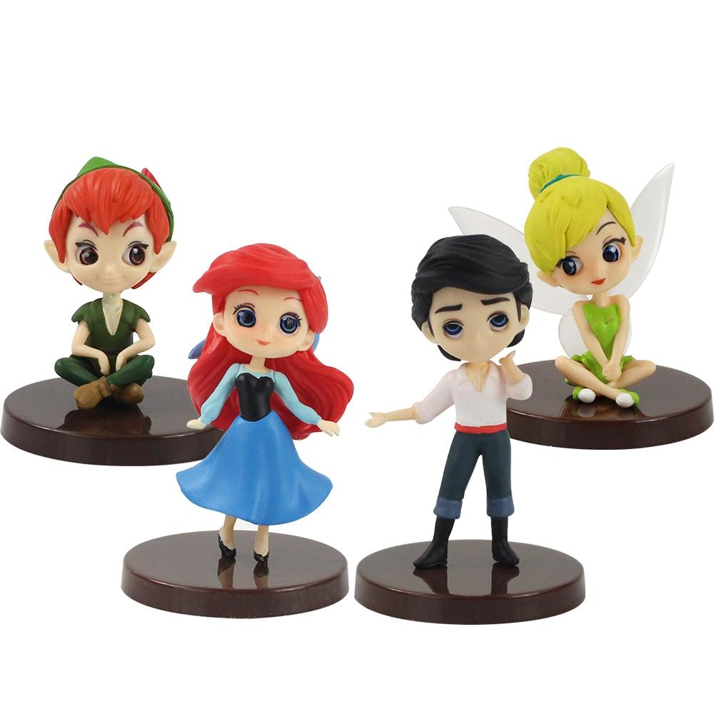 Q Posket Disney Characters Petit Ariel Story of The Little Mermaid Figure 5 Set