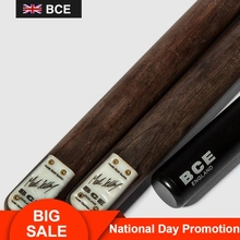 RILEY England BCE BMS Series 3/4 Split Snooker Cue 9.8-10mm Tip Professional Ashwood Seamless Joint with Extension