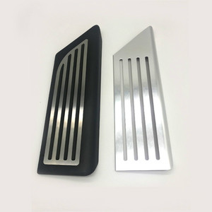 Image 5 - Aluminium legierung Fuß Pedal Für Tesla Modell 3 Accelerator Gas Kraftstoff Bremspedal Rest Pedal Pads Matten Abdeckung Zubehör Auto styling
