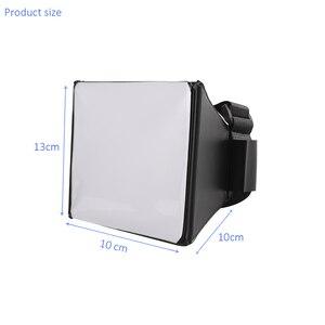 Image 5 - Mini boîte souple pliable diffuseur Flash Softbox + 12 pièces Balance des couleurs Gel filtre pour Canon/Nikon/Sony/Yongnuo EOS Flash Flash