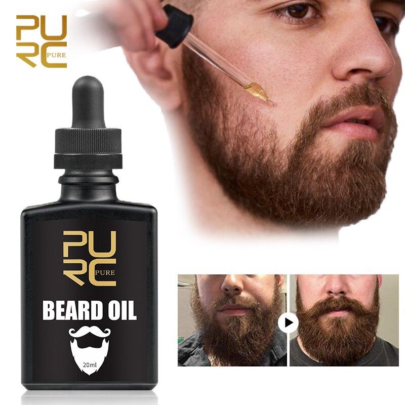 Beard Essence Oil For Nourishing& Groomed Dry Coarse Unruly Mustache Oil Beard Conditioner Anti-shedding Beard Growing Serum