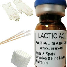 LACTIC Acid Skin Peel For: Acne,Wrinkles,Melasma,Age,Spots,20% Free Ship