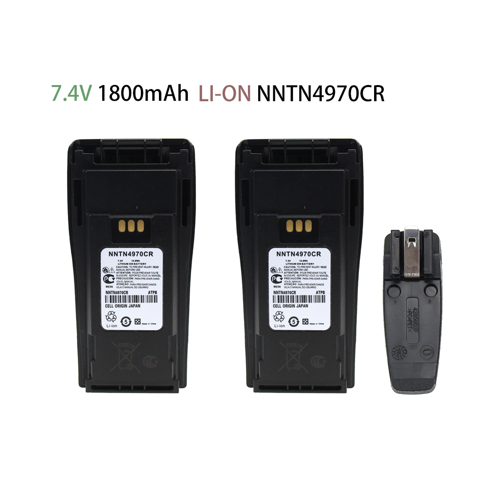 NNTN4497CR 1800mAh Li-on Battery For Motorola CP200 PR400 EP450 EP450S DEP450 CP150 CP140 CP160 CP180 CP250 GP3688 GP3188 Radio
