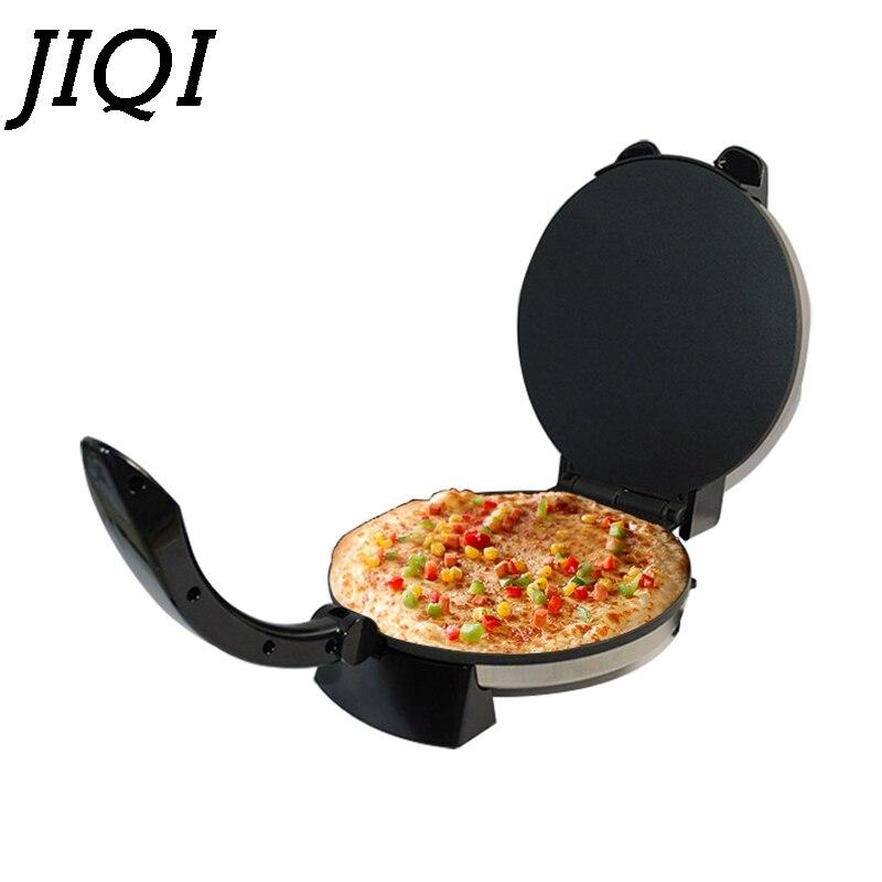 JIQI plaque chauffante électrique crêpière Barbecue Steak Grill plancha Pizza crêpe cuisson poêle Barbecue viande grillée Machine à frire rôtissoire