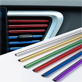 Car Interior Air Conditioner Outlet Vent Grille Outlet Decoration Strip For BMW m3 m5 e46 e39 e36 e90 e60 f30 e30 e34 f10 e53 image