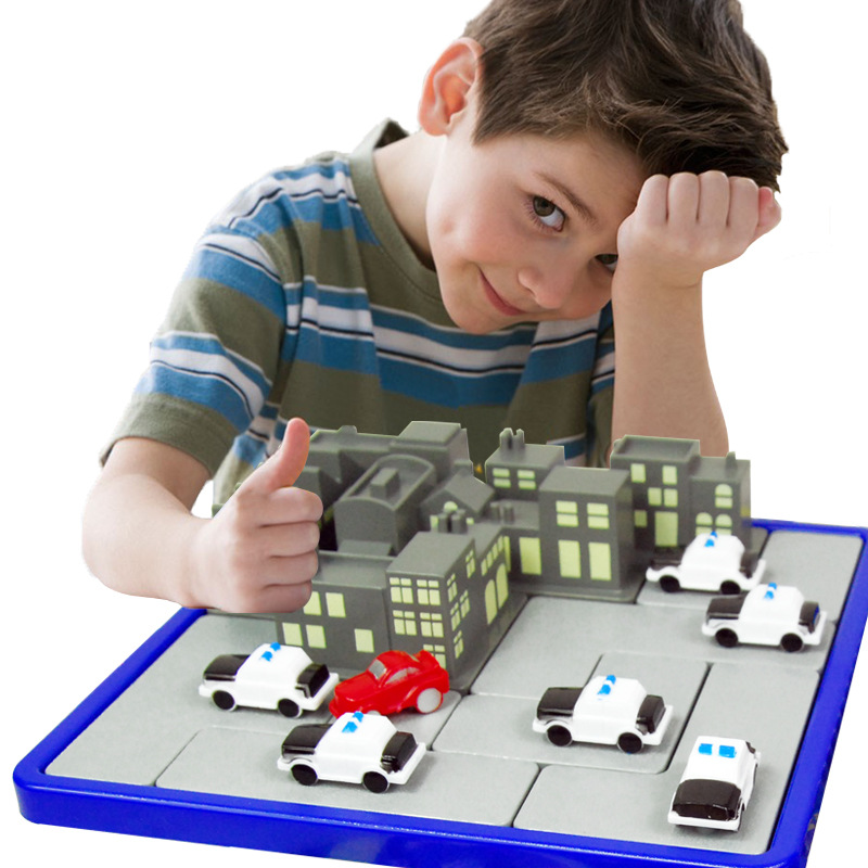 IQ Puzzle Kids Toys Family Logic Board Games 120 Challenge With Solution Smart Logical Thinking Game Intelligent Gifts