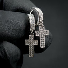 Pendentifs en croix avec pierre de cercle brillante pour hommes et femmes, bijoux Hip Hop à la mode, couleur argent, nouveauté 20