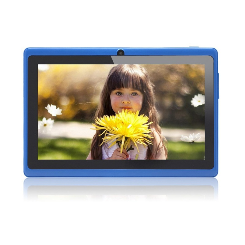 7 Inch Android Google Tablet PC 4.2.2 8GB 512MB DDR3 Quad-Core Camera Capacitive Touch Screen 1.5GHz WiFi Blue