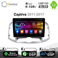Ownice Android 10.0 8 Core Car DVD Stereo For Chevrolet Captiva 2011 - 2017 Radio GPS Navi Multimedia Audio DSP 4G SPDIF 6G+128G