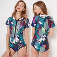 New 2019 Sport One Piece Swimsuit Competitive Swimwear Women Swimming Suits for Patchwork Bathing