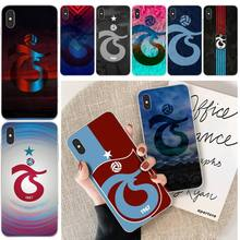 Trabzonspor Logo Customer High Quality Phone Case For iphone 6 6s plus 7 8 plus X XS XR XS MAX 11 11 pro 11 Pro Max Cover lovebay geometri customer high quality phone case for iphone 6 6s plus 7 8 plus x xs xr xs max 11 11 pro 11 pro max cover
