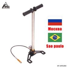 Ручной насос PCP 4500Psi/30Mpa с масляным влагофильтром, компрессор для страйкбола, винтовки, пейнтбола, подводного плавания, пейнтбола