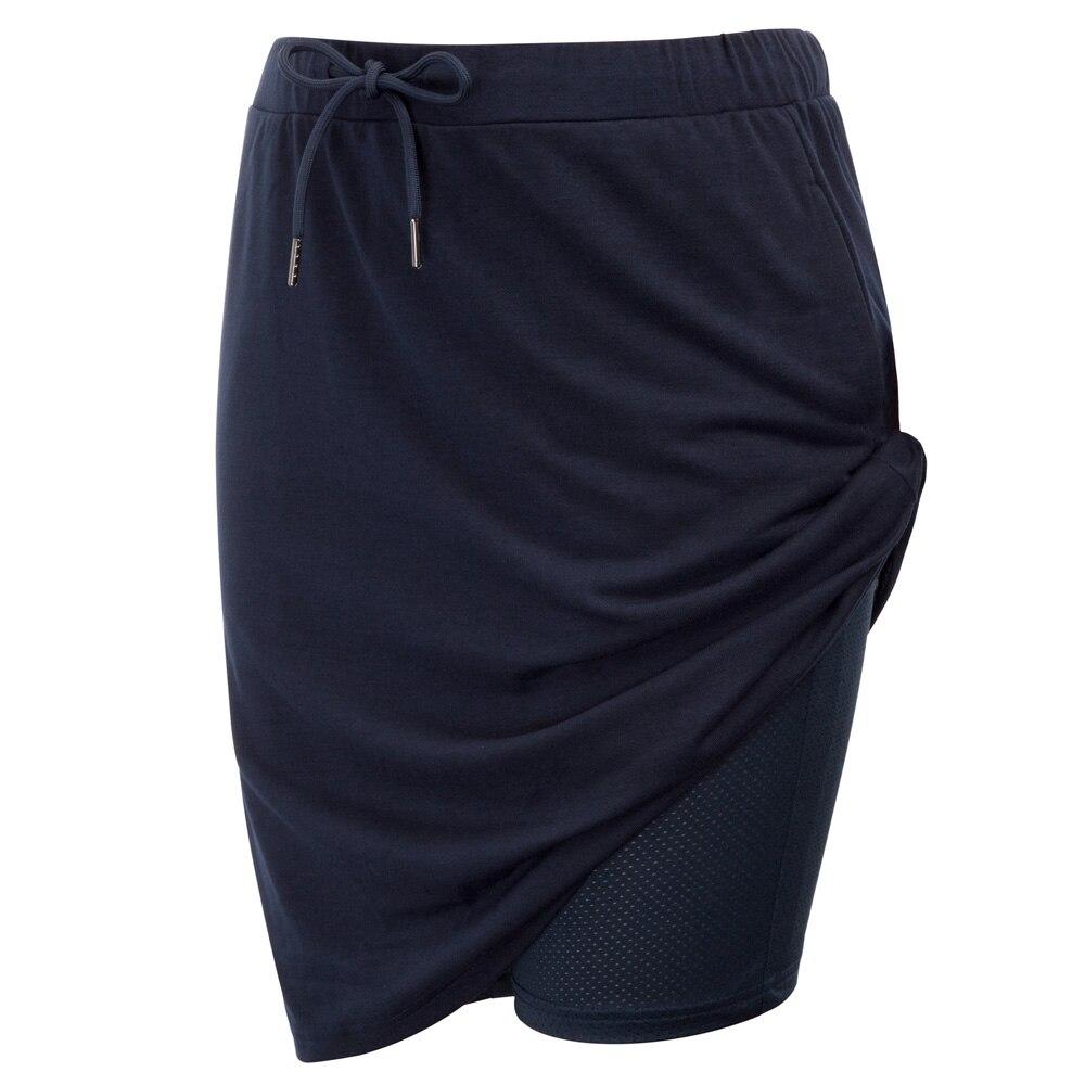 Cycling Skorts Drawstring Tie Side Sportswear Tennis Skirt Shorts Side Pockets Golf Stretch Sports Running Cozy Breathable
