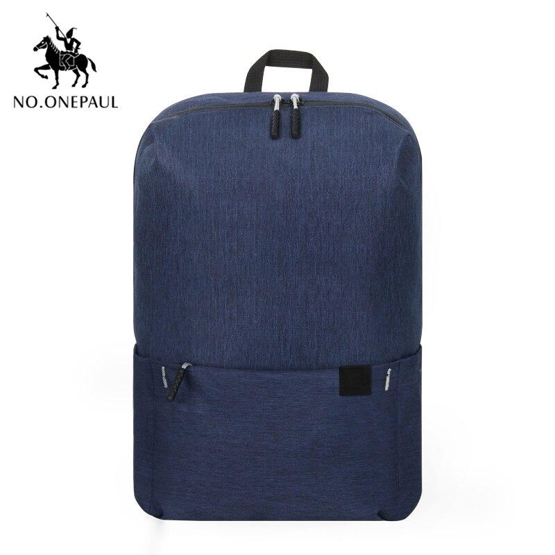 NO.ONEPAUL Mochila, женский рюкзак для путешествий, женский рюкзак, модный, кольцо, украшение, на плечо, для книг, сумка, легкая, повседневная сумка - Цвет: PCKG deep bule
