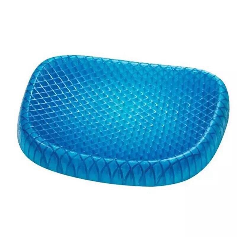Силиконовая гелевая сотовая Автомобильная подушка мягкая и дышащая домашняя Подушка Автомобильная обезболивающая Массажная накидка для
