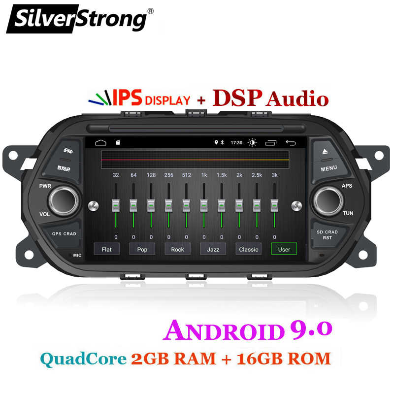SilverStrong 7 ''クアッドコア Android9.0 車 DVD 1Din フィアット Tipo Aegea Egea 2015 2016 2017 自動車マルチメディアプレーヤー