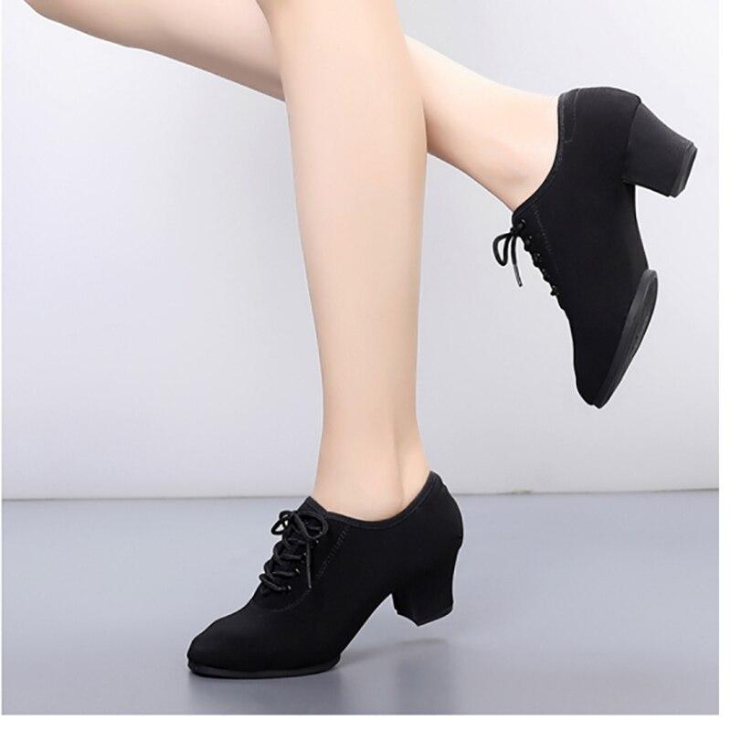 Ballroom Salsa Samba Party Tango Ladies Latin Dance Shoes Sneakers Professional Dancing Shoes For Women Girls