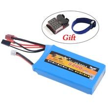 RC Battery.7.4V 5200mAh 8C 2S pour 1/5 RC LOSI 5IVE T voiture/Rc pièces de voiture (99mm * 54mm * 22mm)