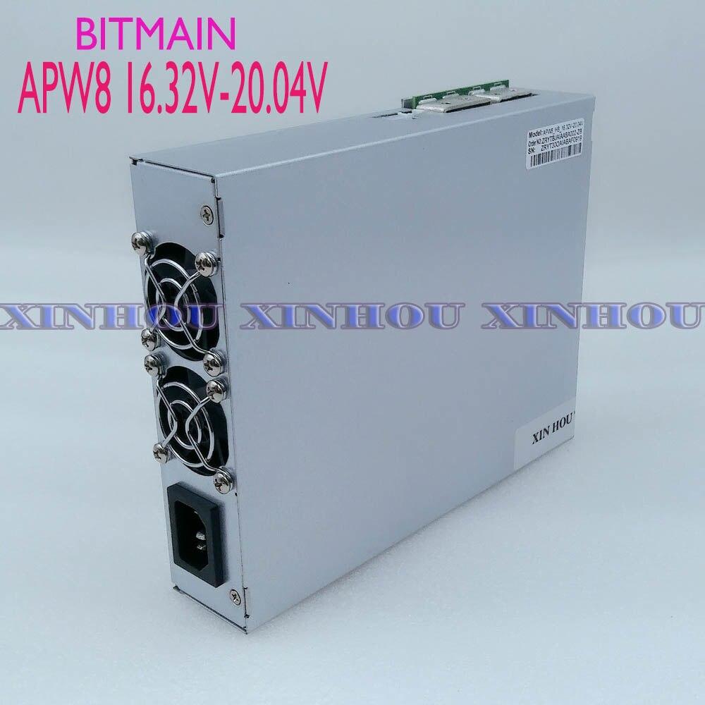 Original BITMAIN netzteil APW8 16,32 V-20,04 V NETZTEIL Für miner Antminer S15 T15