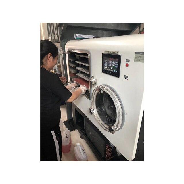 Máquina comercial de secado por congelación al vacío de acero inoxidable usada para la venta
