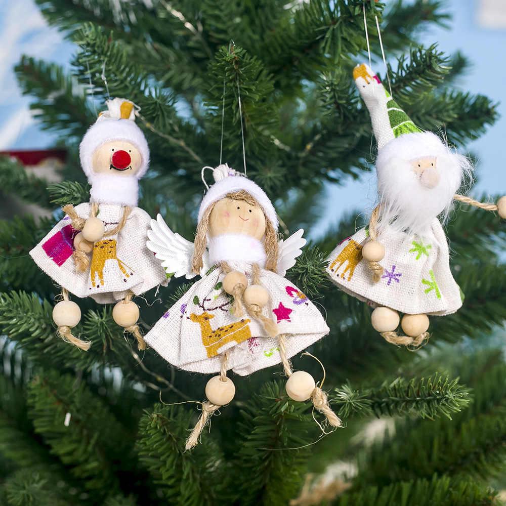 Angel Doll Merry Christmas Decor