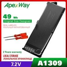"7.4 v 95wh 노트북 배터리 a1309 apple macbook pro 17 ""a1297 (2009 버전) mc226 mc226zp/a mc226ta/a mc226ll/a mc226j/a"