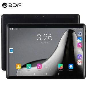Планшеты Новый 2.5D стальной экран 10,1-дюймовый планшет 3G Телефонный звонок Android 9,0 четырехъядерный 2 ГБ-32 Гб ROM Bluetooth 4,0 Wi-Fi планшетный ПК