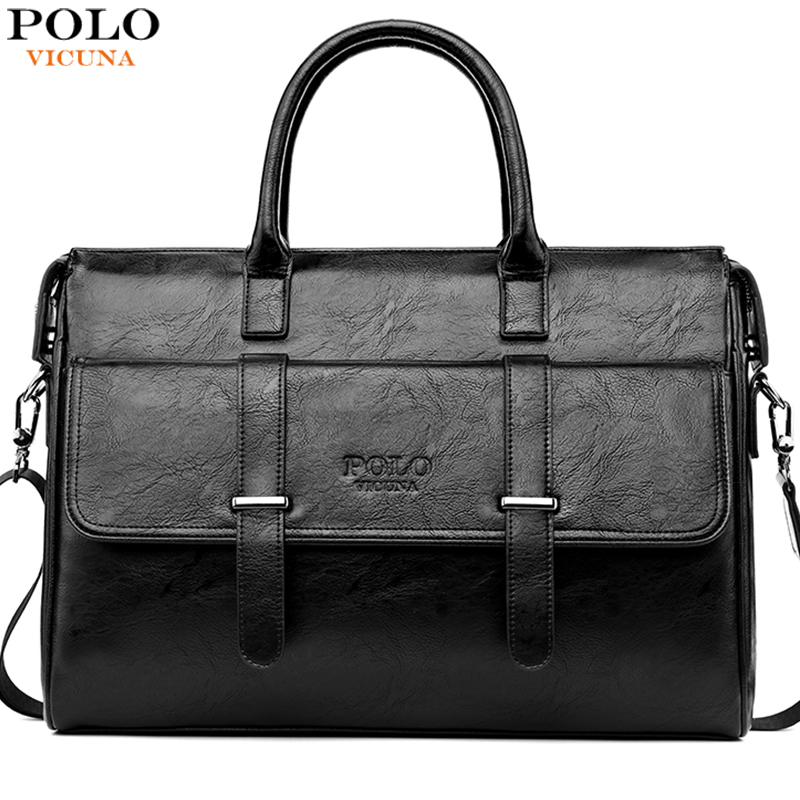 VICUNA POLO Men's Briefcase For 15.6