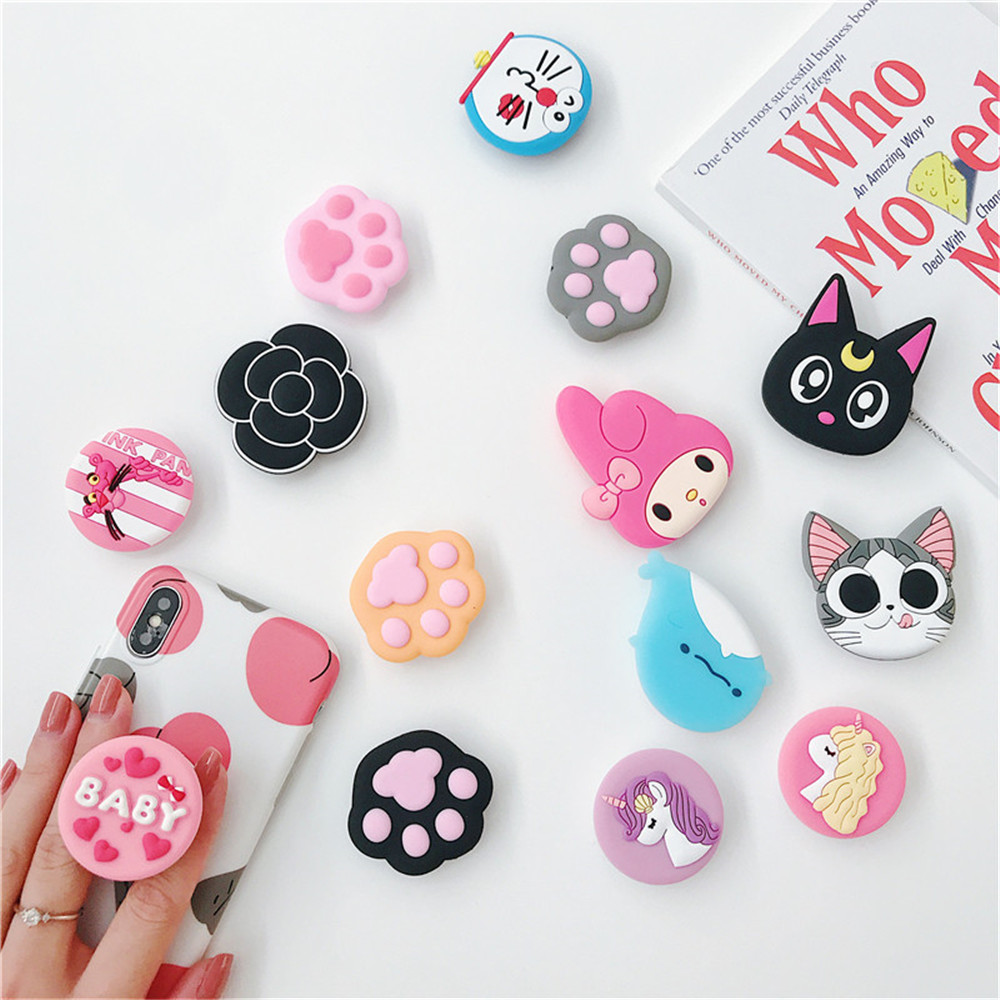 Попсокет Cartoon 3D Animal Popular Phone Socket Mobile Phone Holder Stretch Bracket Expanding Stand And Grip Ring Pocket Socket