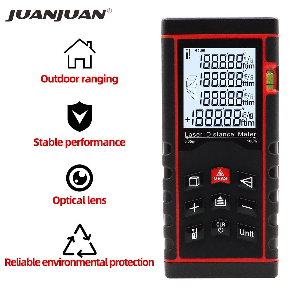 30M/40 M/60M/100M Laser Meter Digital Laser Rangefinder Distance Tester Tape Finder Distance Measure Device 40%OFF