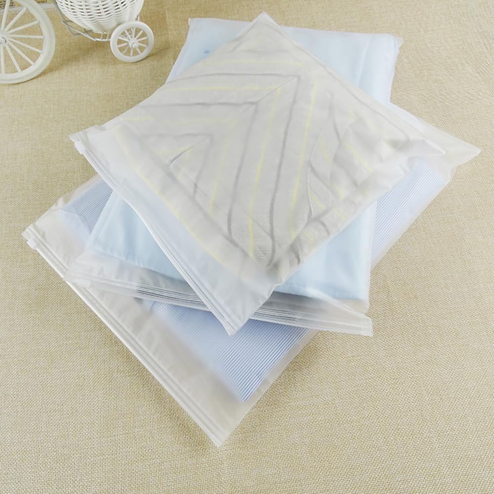 300 шт матовая прозрачная/прозрачная многоразовая Косметическая продуктовая сумка с отверстием на вентиляционное отверстие, застежка молни