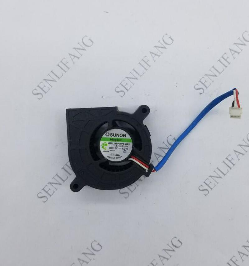FOR GB1245PKVX-8AY 11.B4166.F.X.GN DC 12V 1.2W 3-line Projector Cooling Fan
