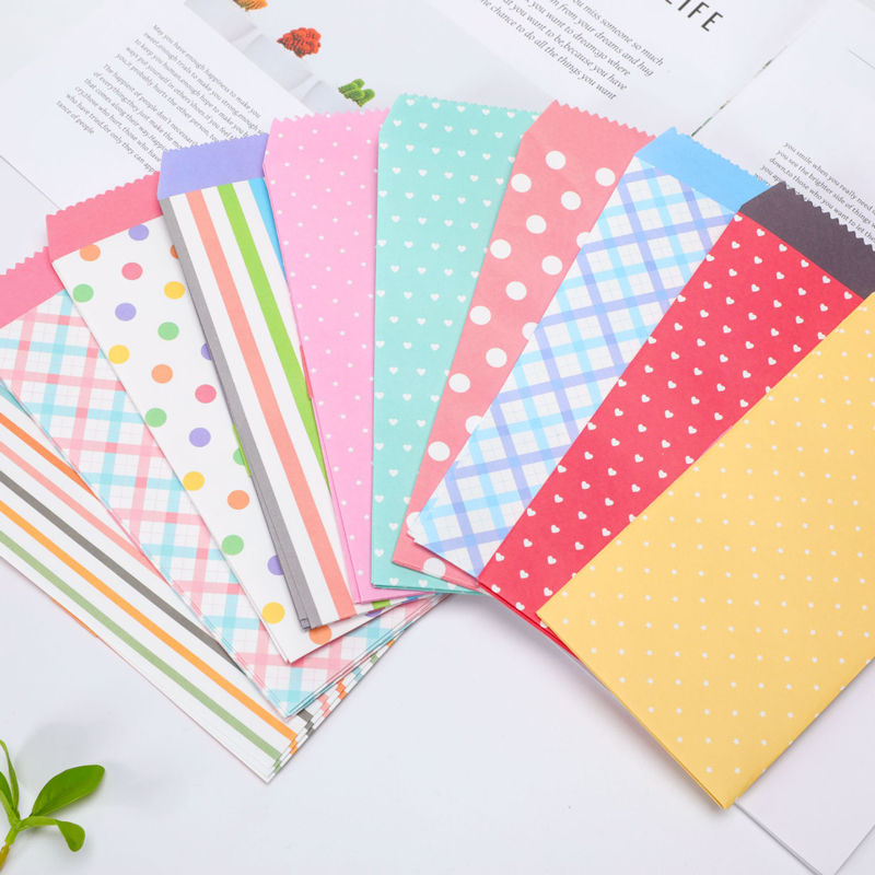20 Pcs/lot Kawaii Mini Colorful Paper Envelope Cute Small Baby Gift Craft Envelopes For Wedding Letter Invitations High Quality