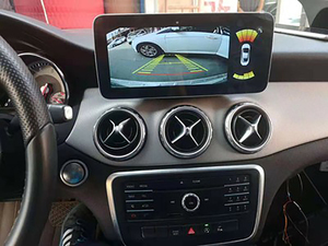 Image 4 - Android 10.0 System IPS Touch Screen Car Multimedia Player For Mercedes benz A CLA GLA W176 W117 X156 BT SWC WIFI 2+32G GPS Navi