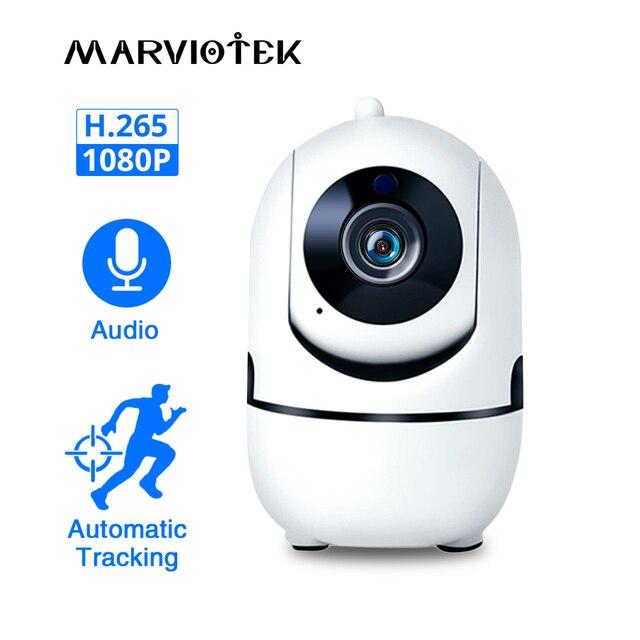 Ev güvenlik 720P bebek izleme monitörü Wifi bebek izleme monitörü kamera gece görüş ile iki yönlü ses Video dadı bebek telefonu kamera kablosuz