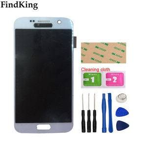 Image 2 - AMOLED LCD Display For Samsung Galaxy S7 G930 G930A G930F SM G930F LCD Display Touch Screen Assembly Digitizer Panel Tools