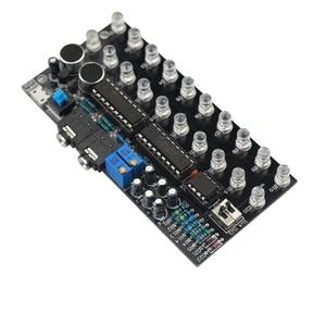 Image 4 - GHXAMP LM3915 デュアルチャンネル 10 オーディオレベル表示キット MP3 PC 電話スピーカー音楽スペクトル音声起動