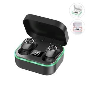 Image 1 - M8 słuchawki Bluetooth True Wireless 5.0 TWS słuchawki douszne Mini aktywne słuchawki z redukcją szumów dźwięk radia Sport słuchawka