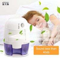 ITAS2206 Semiconductor Dehumidifier Mini Household Excelvan 500ml Home Air Dehumidifier|Desumidificadores| |  -