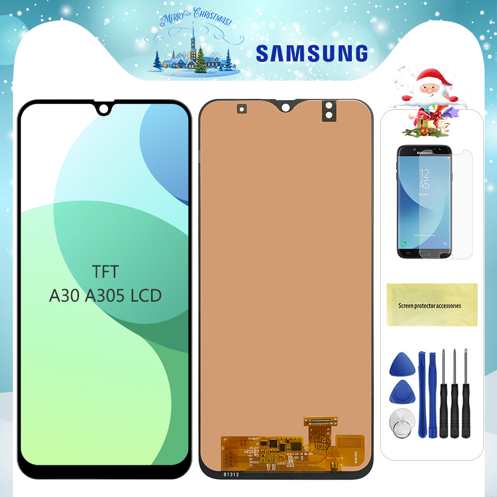 <font><b>A30</b></font> <font><b>Lcd</b></font> For <font><b>Samsung</b></font> <font><b>Galaxy</b></font> <font><b>A30</b></font> A305/DS A305F A305FD A305A <font><b>LCD</b></font> Display Touch Screen Digitizer Replacement For <font><b>Samsung</b></font> <font><b>A30</b></font> display image