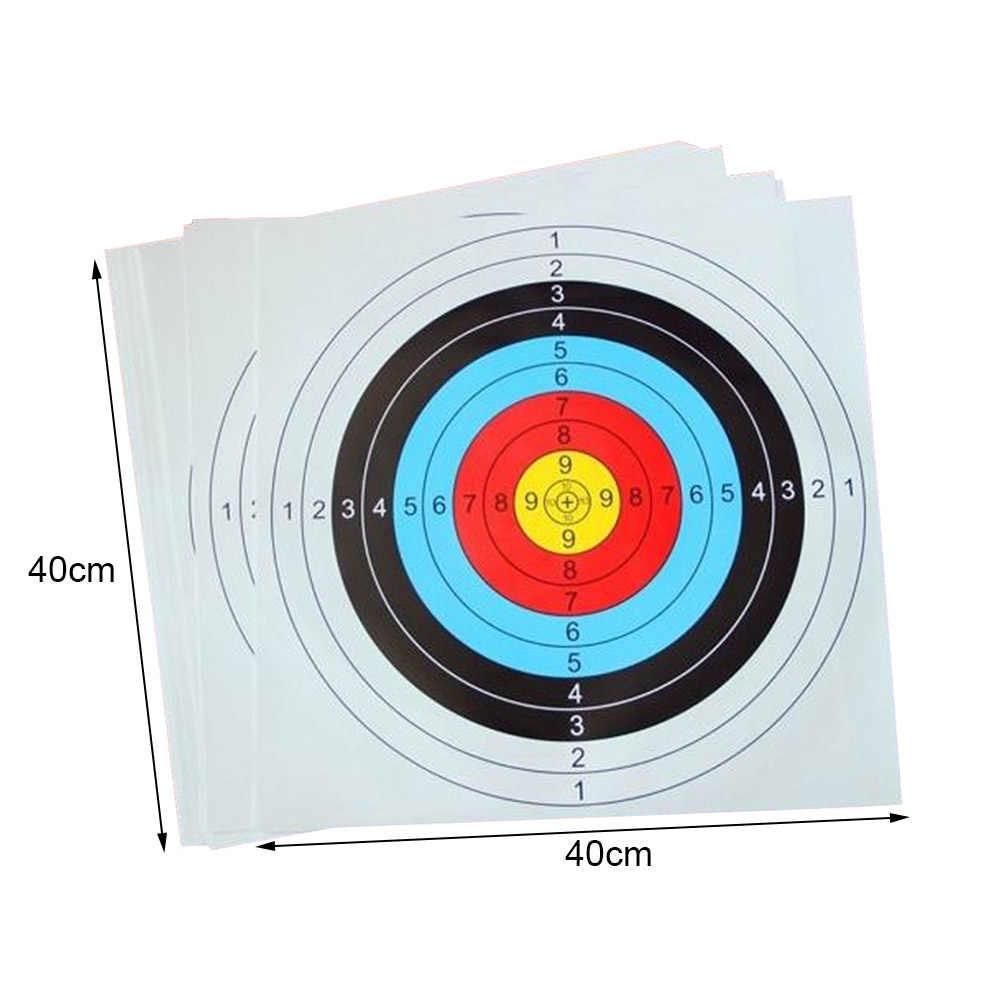 Arco de alvo profissional, medidor de flecha de 40cm 60cm de uso profissional, tradicional, esportes ao ar livre