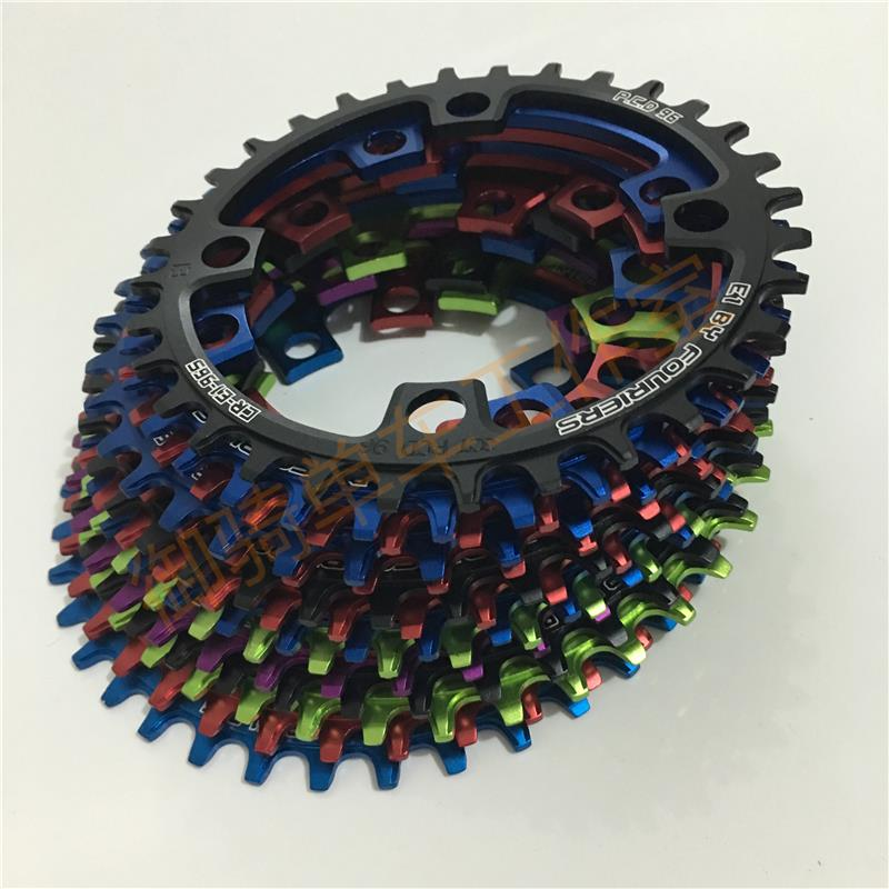 FOURIERS 96 BCD <font><b>32T</b></font> 34T 36T 38T 40/42/44/46T AL7075-T651 Alloy Bike Chain-rings Chainwheel MTB Road Cycle Crankset Parts image