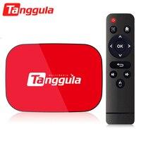 Tanggula-decodificador de TV serie X1, IPTV 4G + 128G, 2,4G/5,8G, WiFi, Android 9,0, inteligente, 8K, Streaming en vivo, reproductor multimedia, Internet