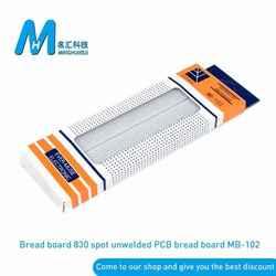 MB-102 Breadboard 830 Point PCB Board MB-102 MB102 Test Develop DIY kit nodemcu raspberri pi 2 lcd High Frequency