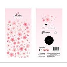 Importação coreana suatelier marca sonia folha de ouro sakura diy scrapbooking diário artigos de papelaria adesivos suprimentos